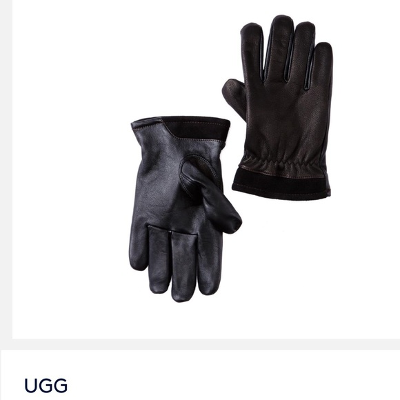 d9f835b8a56b7 UGG Accessories | Mens Leather Gloves | Poshmark